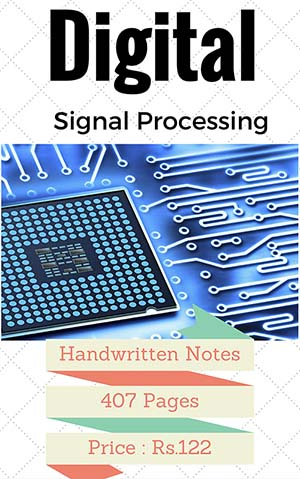 DIGITAL SIGNAL PROCESSING PREMIUM LECTURE NOTES (ALL UNITS)