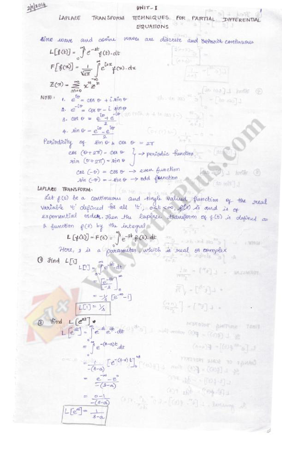 Advanced Mathematical Methods Premium Lecture Notes - Evangeline Edition