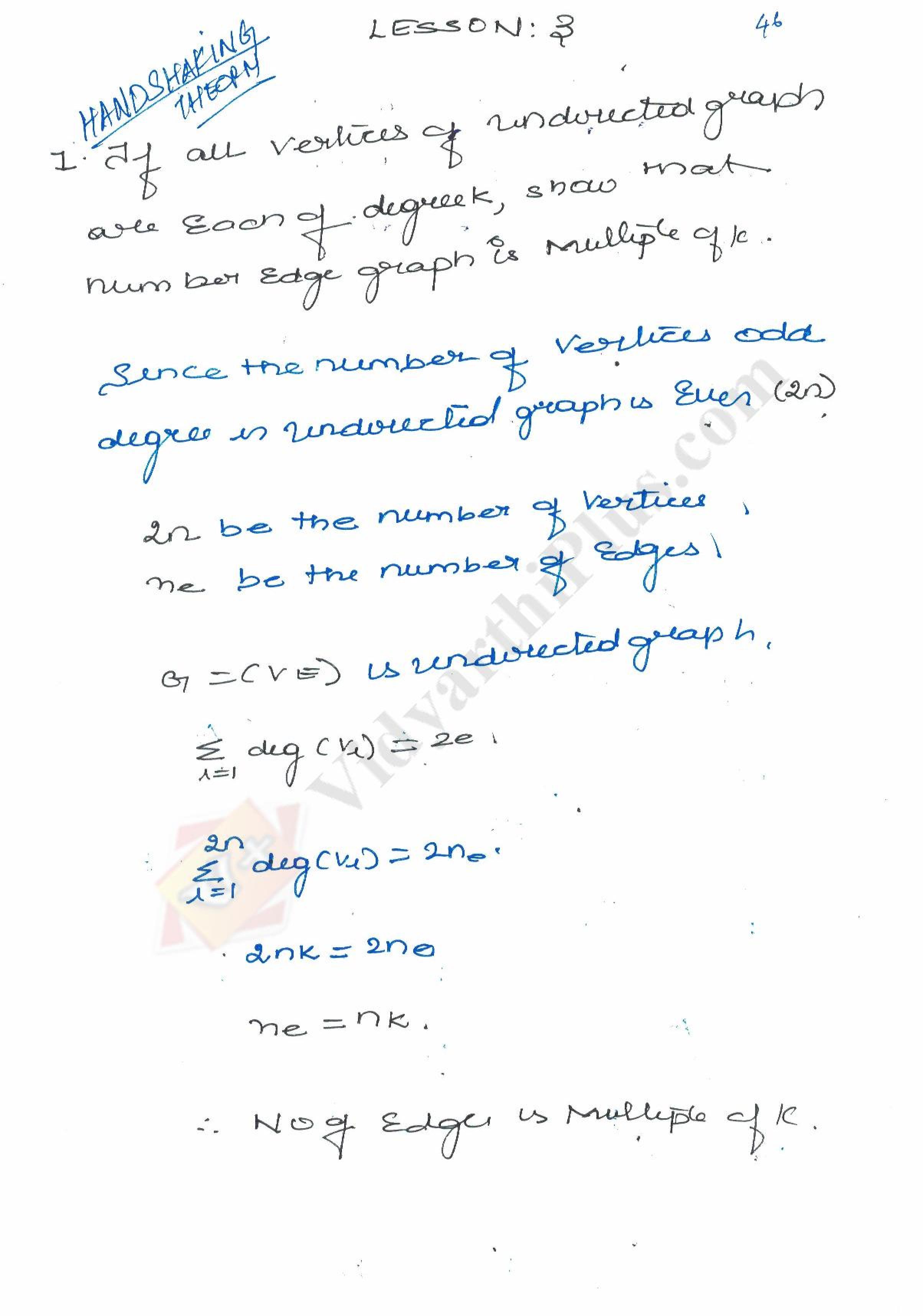 Discrete Mathematics Premium Lecture notes - Venkat Raman Edition