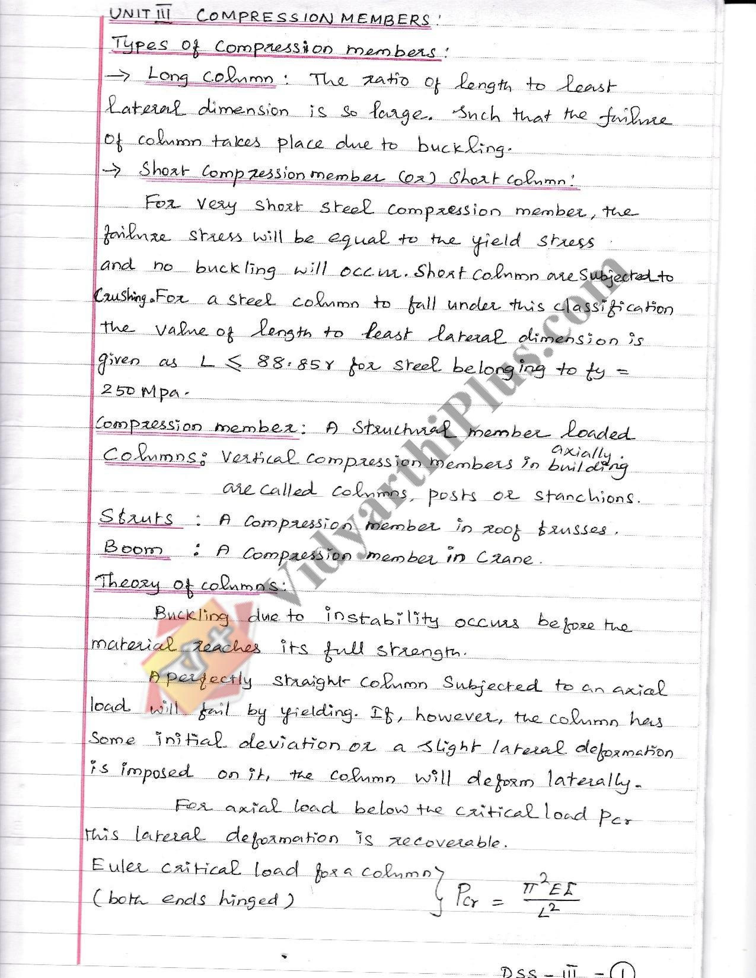 Design Of Steel Structure Premium Lecture Notes - Alarmelumangai Edition