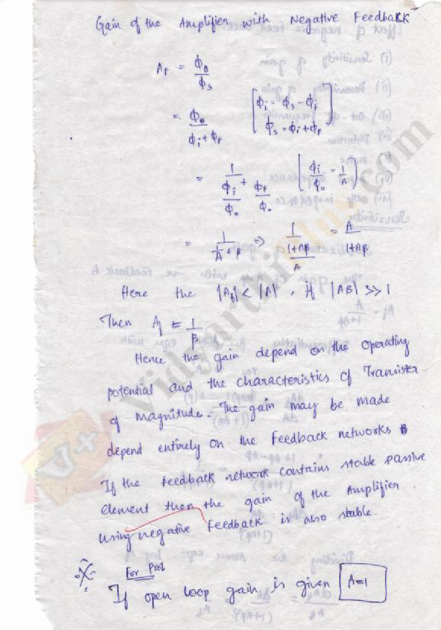 Electronic Circuits II Lecture Notes - Charles Edition