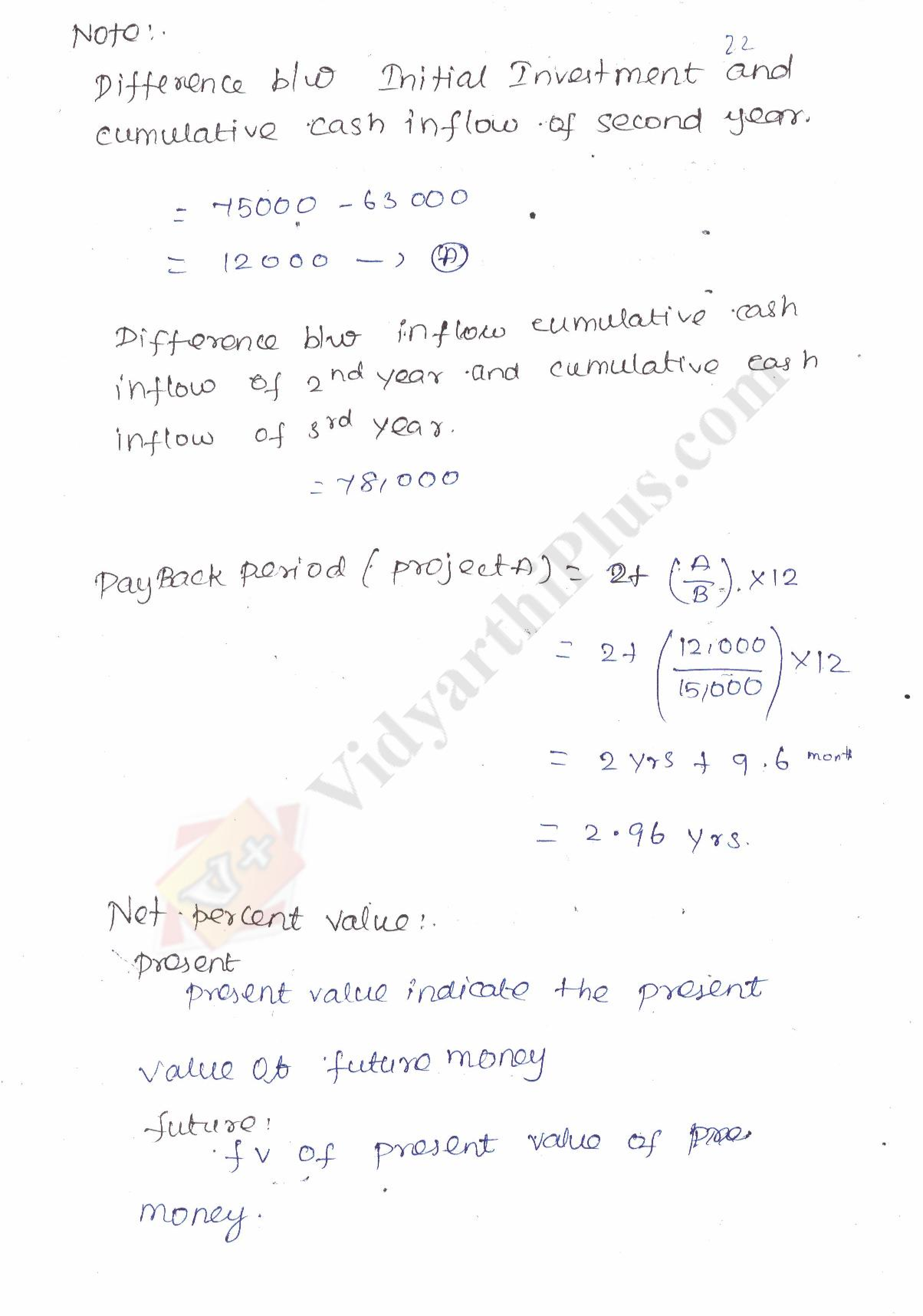 Engineering Economics And Financial Accounting (5 Units) Premium Lecture Notes - Sudha Edition