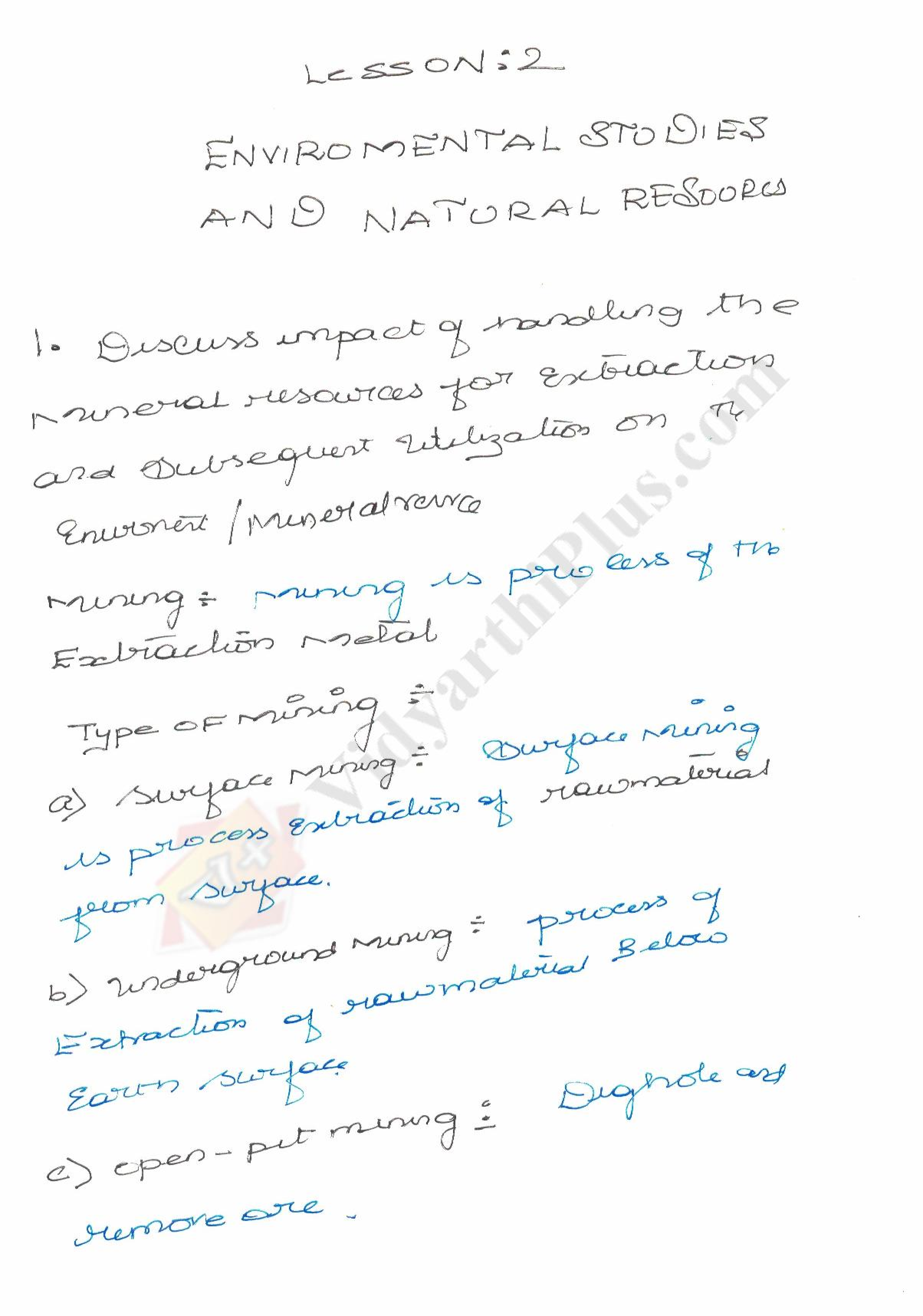 Environmental Science And Engineering premium Lecture Note - Venkat Raman edition