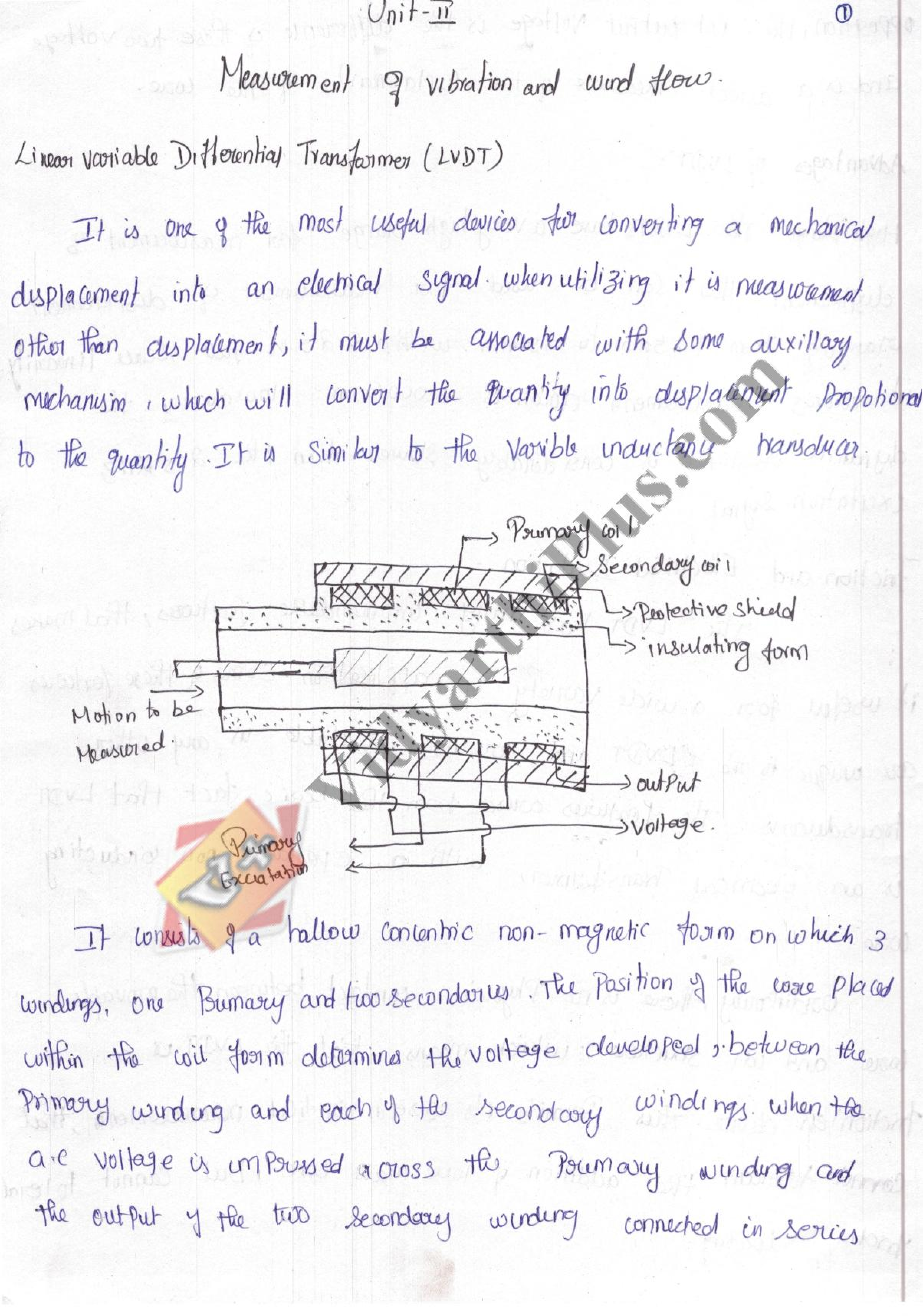 Experimental Techniques And Instrumentation Premium Lecture Notes - Buvana Edition