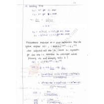 Control System Premium Lecture Notes (All Units) - Lavanya Edition