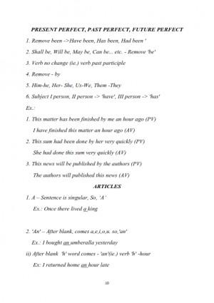 English Grammar Premium Lecture Notes - Mahalingam M.B.A ..,M.Phil Edition