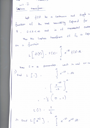 Advanced Mathematical Methods (High Quality) Premium Lecture Notes (All Units) - Ashok Edition