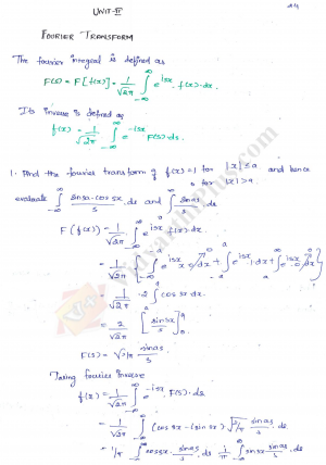 Advanced Mathematical Methods Premium Lecture Notes - Buvana Edition