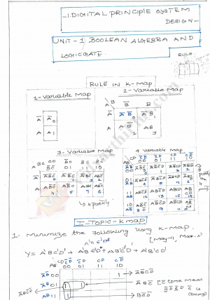 Digital Principles And System Design Premium Lecture Notes - Venkat Raman Notes