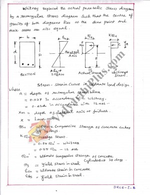 Design Of Reinforced Concrete Elements Premium Lecture Notes (All 5 Units) - Alarmelumangai Edition
