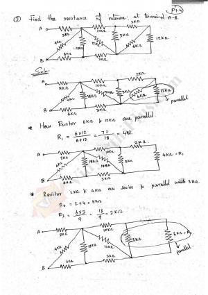 Electric Circuits and Starting And Speed Control Solved Problems (10 Problems) - Sridhar Edition