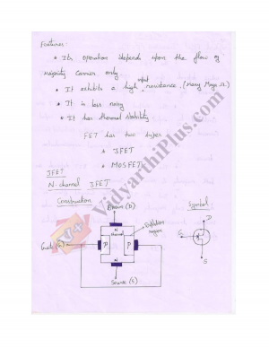 Electronic Device Premium Lecture Notes (4 Units) - Suji Edition