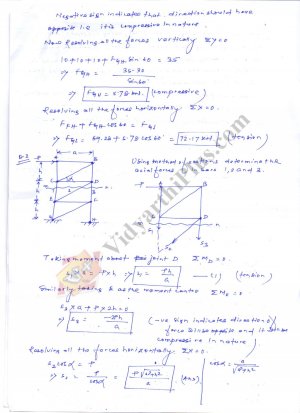 Engineering Mechanics Premium Lecture Notes - Deepthi Edition