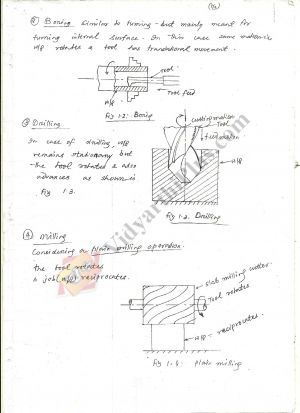 Manufacturing Science  And  Technology - II Premium Lecture Notes - Mani Edition