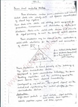 Power Electronics Premium Lecture Notes - Shanmugam Edition