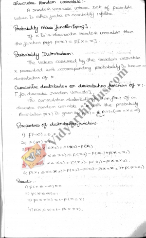 Probability And Queueing Theory Premium Lecture Notes - Agalya Edition