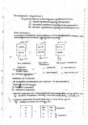 Thermodynamics Premium Lecture Notes - Praveen Edition