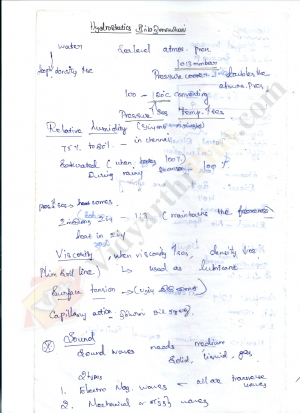 TNPSC Science (English) Lecture Notes - Lavanya Edition