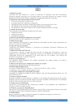 GE6351 EVS 2 Marks and 16 Marks with Answers - 2015 Edition