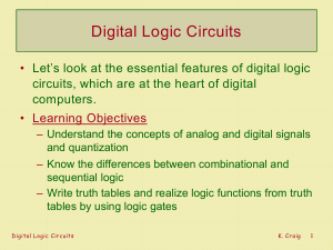 EE6301 Digital Logic Circuits Lecture Notes - Santhru Edition