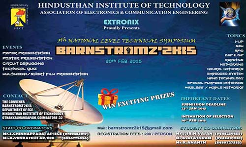 hindusthan institute of technology department of ece