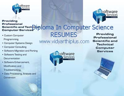 diploma in computer science engineering resume - Resume Computer Science 2015