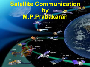 EC2045 Satellite Communication Lecture Notes